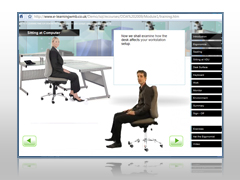 workstation assessment software from e-Office Safety
